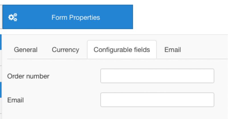 RO Payments RSForms! Pro Configurable fields